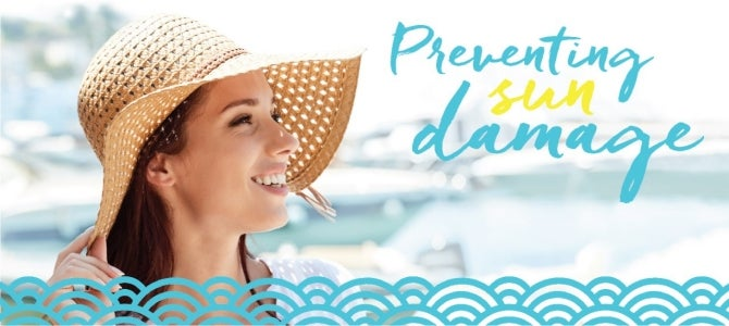 take preventive actions to protect your skin from the sun