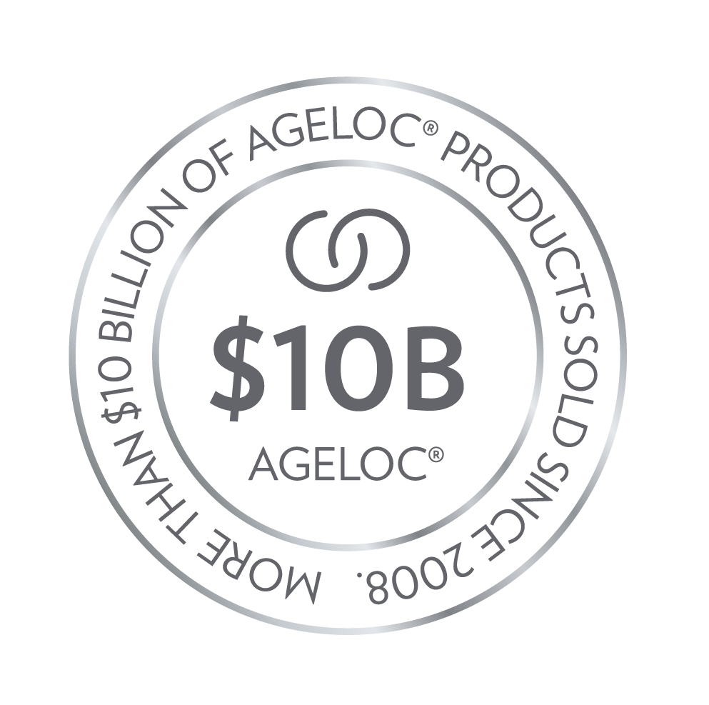 ageLOC $10B brand award-logotyp