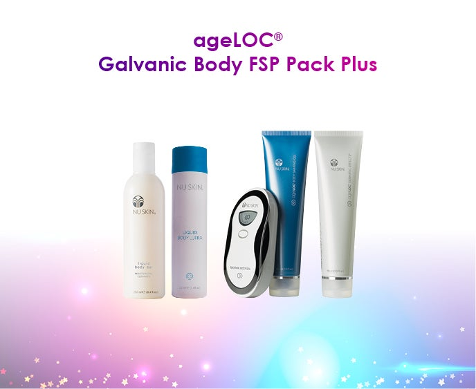 ageLOC Galvanic Body FSP Pack Plus
