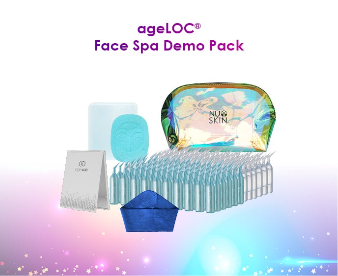 ageLOC Face Spa Demo Pack