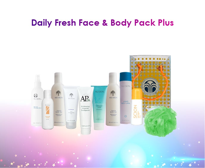 Daily Fresh Face & Body Pack Plus