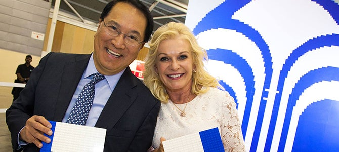 Joe Chang and Sandie Tillotson