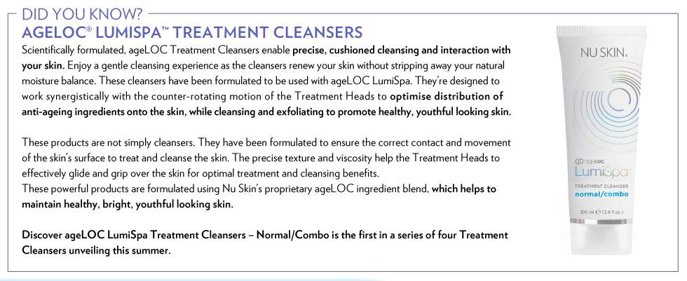 LumiSpaMicrosite_Treatment Cleansers_Banner