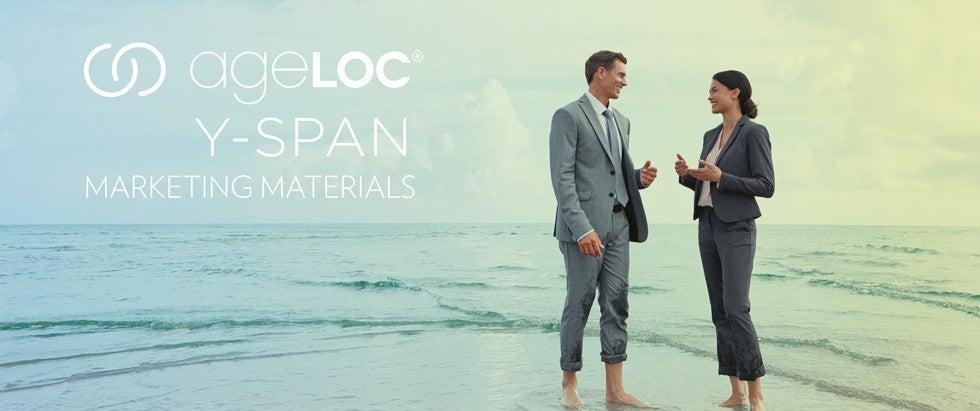 AgeLOC Y-Span Marketing Materials