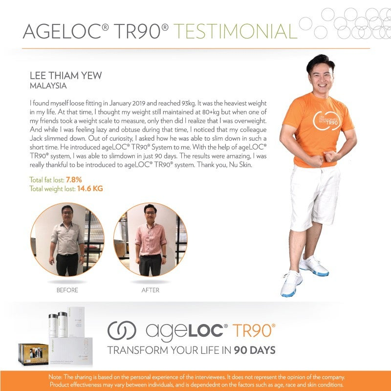 Nu Skin Super Star Testimonial Lee Thiam Yew