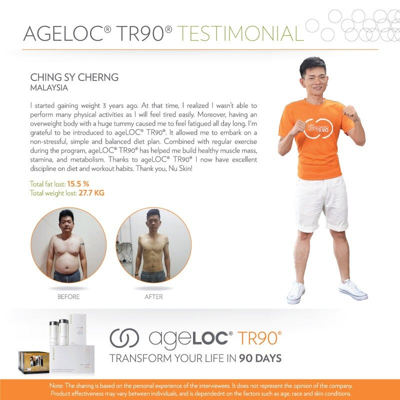 Nu Skin Super Star Testimonial Ching Sy Cherng