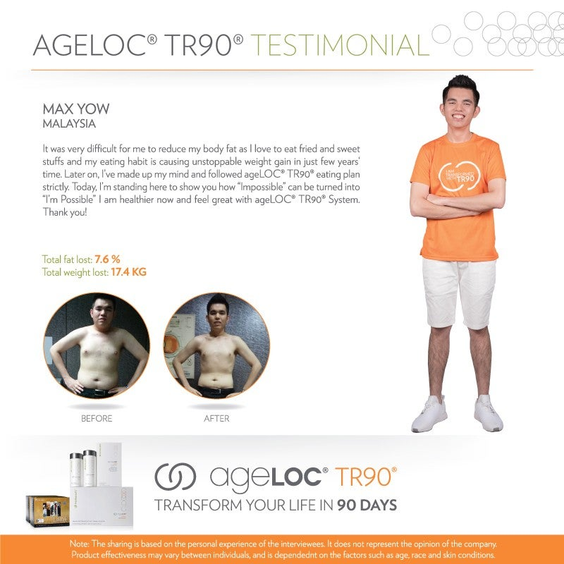 Nu Skin Live Young Testimonial Max Yow