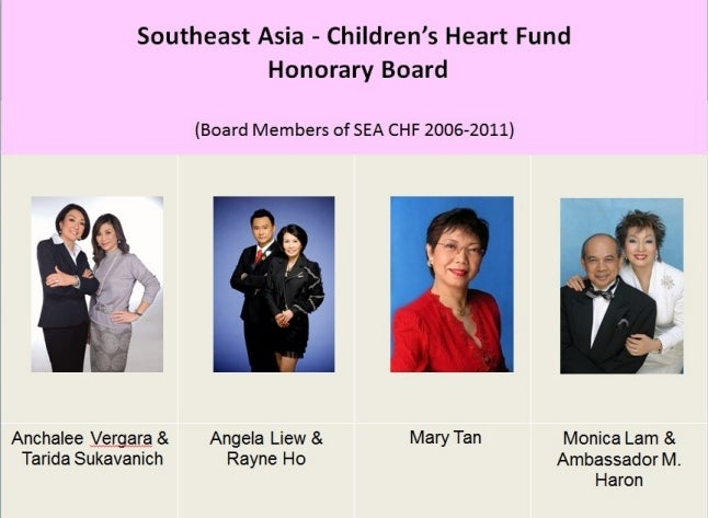 SEA-CHF Honorary Board
