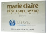 Nu Skin Awards & Recognitions marie clarie