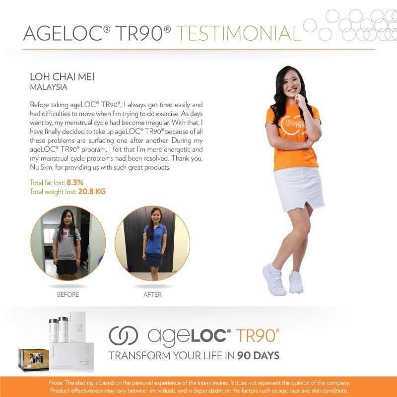 ageLOC_TR90_Superstar_Testimonial_May2018_LohChaiMei