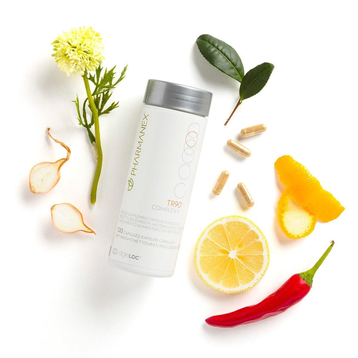 Pharmanex TR90 Complex F pill, botanical food supplement