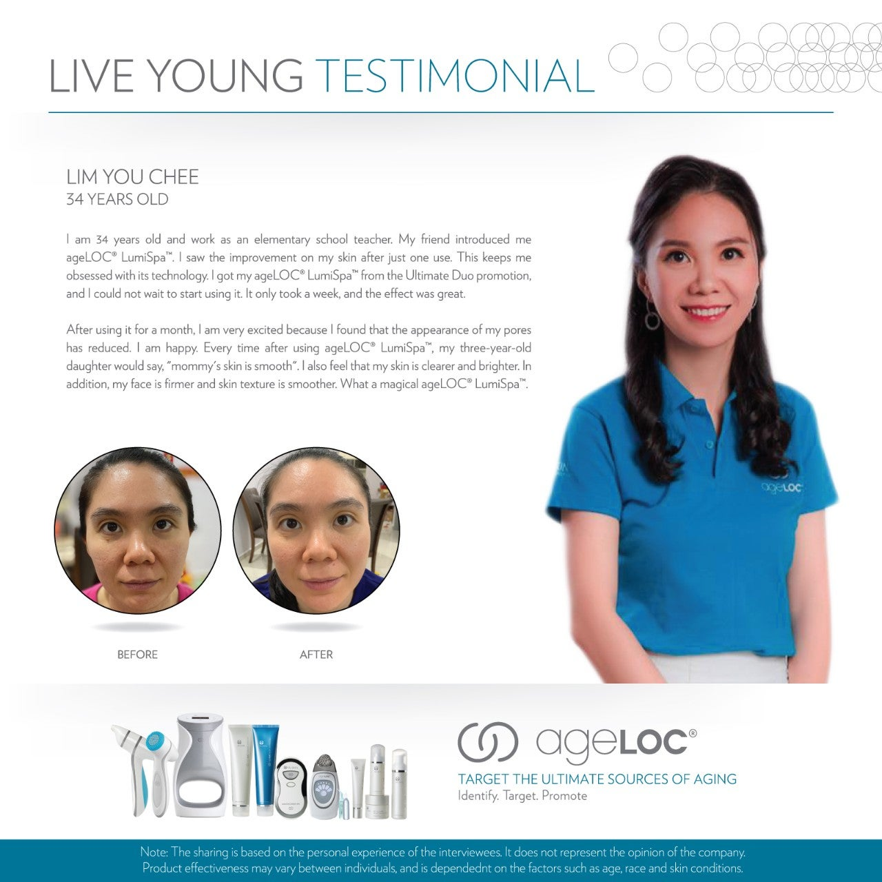 Nu Skin Live Young Testimonial Lim You Chee