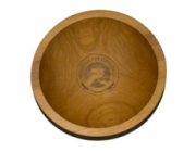 Nourish the Children Wooden Rice Bowls