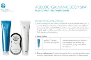 Body Spa Quick Start Guide