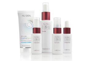 Nu Skin 180° + ageLOC LumiSpa Treatment Cleanser Normal/Combo Package