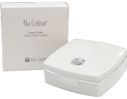 nu colour pressed powder compact case
