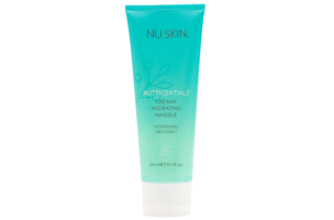 nu skin nutricentials creamy hydrating masque nourishing face mask for all skin types