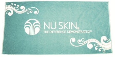 Terry Towel With Nu Skin Logo