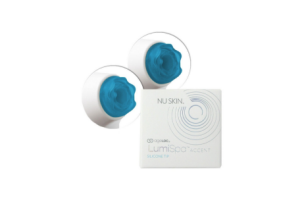 ageLOC LumiSpa Accent – Replacement Blue Silicone Tips for Brightening Eye Attachment